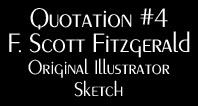 Quotation 4 Fitzgerald Sketch