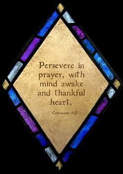 persevere in prayer quote